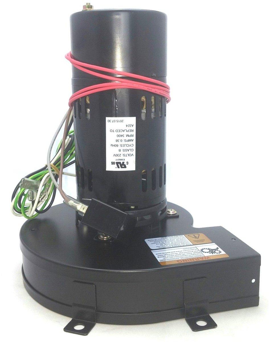 Fasco A324 Pellet Stove Blower Motor 230V