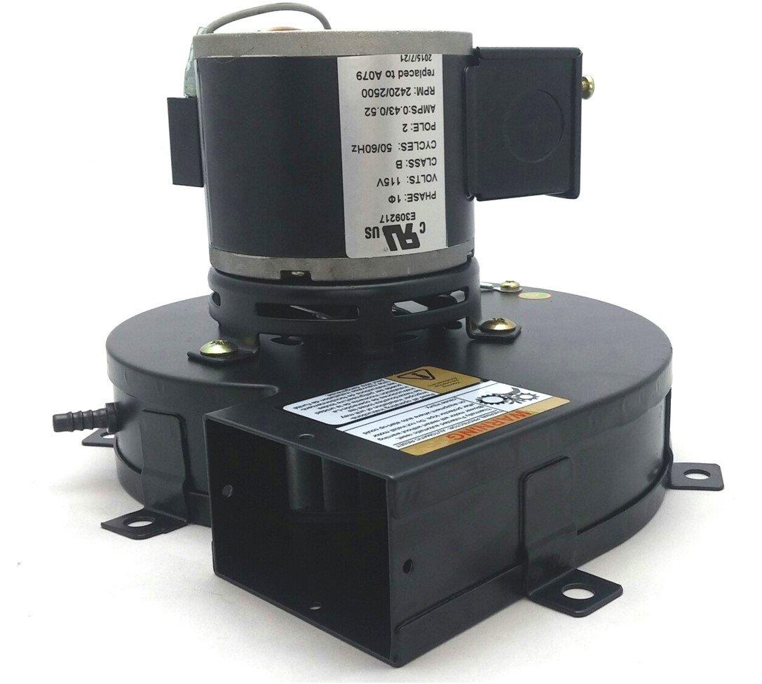 Fasco A079 Pellet Stove Blower Motor Draft Inducer 115V A079