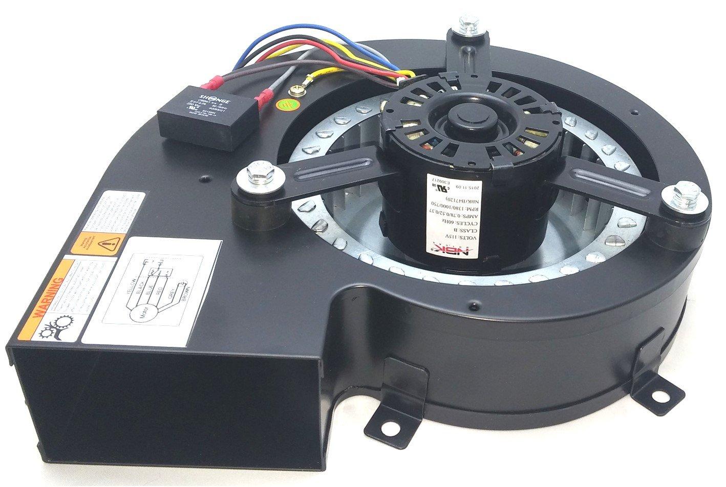 Fasco B47120 Pellet Stove Blower Motor Centrifugal 115V