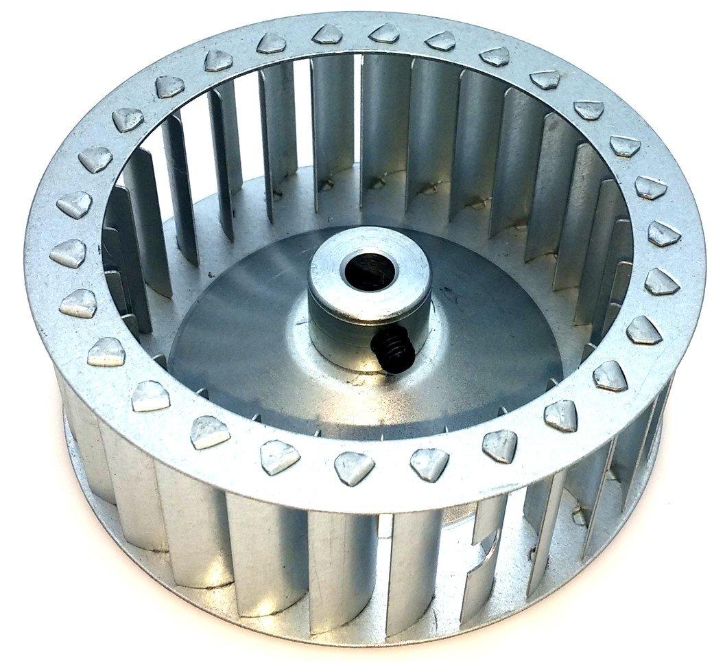 Carrier LA11AA005 Pellet Stove Inducer Draft Blower Wheel 1.5 In Wide