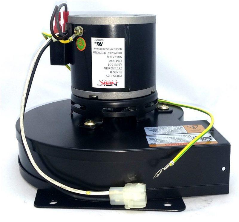 Fasco A143 Pellet Stove Blower Motor Draft Inducer 115V 60Hz A143