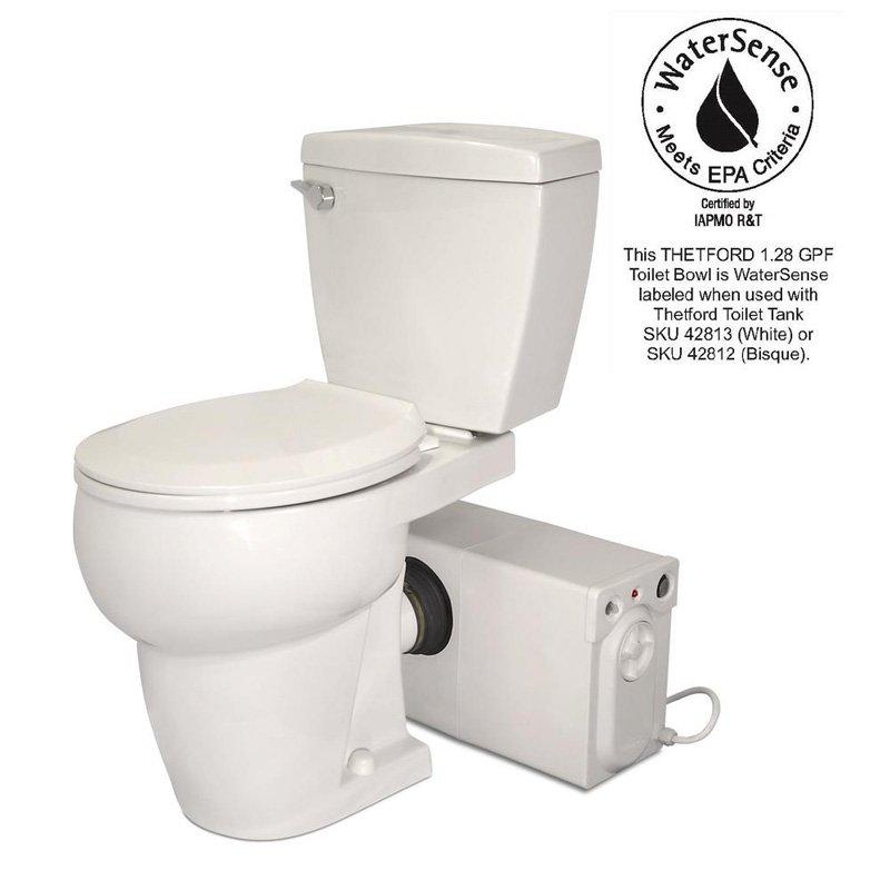 Thetford 1402481 42821 Wht Round Toilet