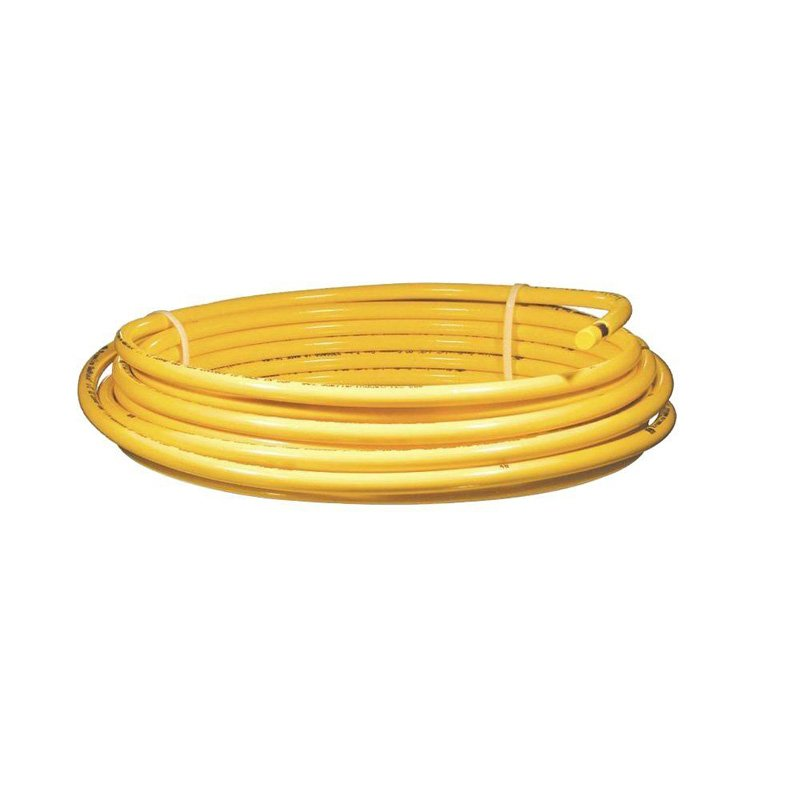 Coptube 1455518 3/8Odx50 Yellow Coated Copper Gas
