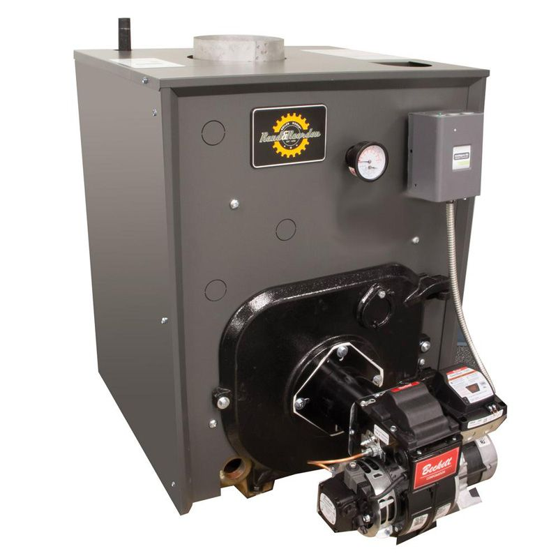 Rand & Reardon RRO 179 oil fired water boiler