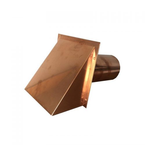 "Nonstock 1622455 Dp 4"" Round Copper Vent W/Damper"