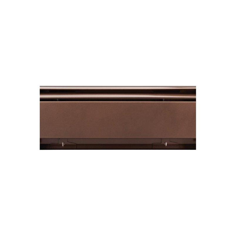 Slantfin30-Ds Rubbed Brnz 4' Baseboard