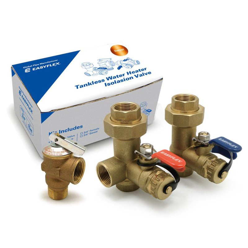 Easyflex 1885033 Tankless Water Heater