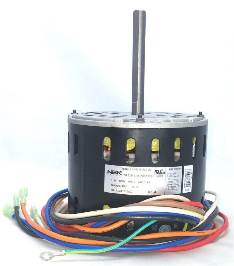 International Comfort 1013341 Hvac Furnace Blower Motor 1/2 Hp
