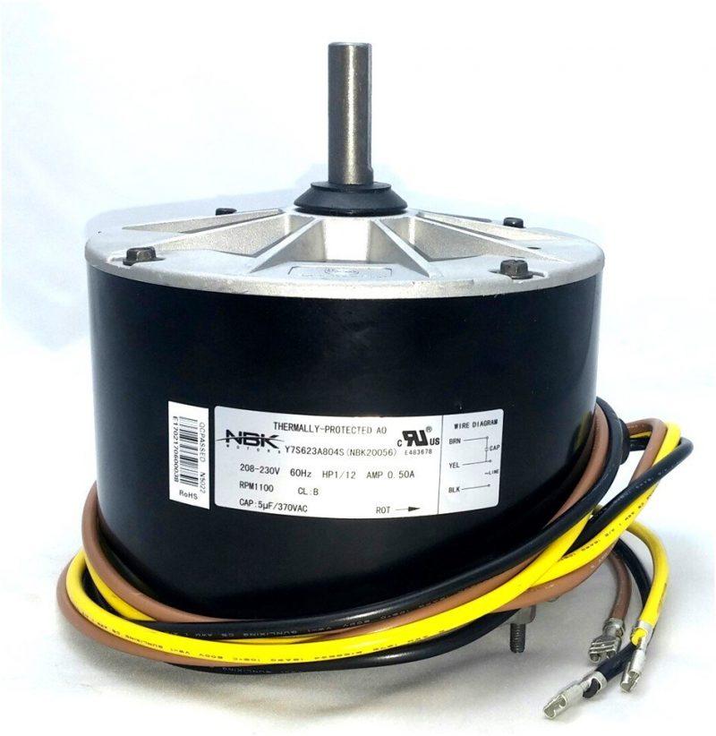 image of GE 5KCP39BGY539S Hvac Condensor Fan Motor 1/12 Hp 208/230V