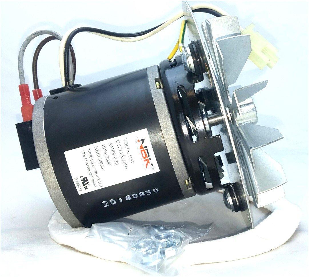 Rotom HB-RBM120 Pellet Stove Blower Motor 115V/60Hz