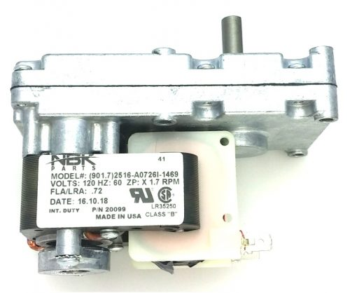 Drolet 44106 Pellet Stove Auger Motor Gear Feed