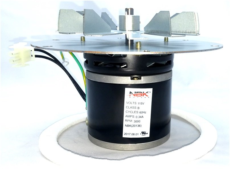 Whitfield 12150011 Pellet Stove Blower Motor Exhaust