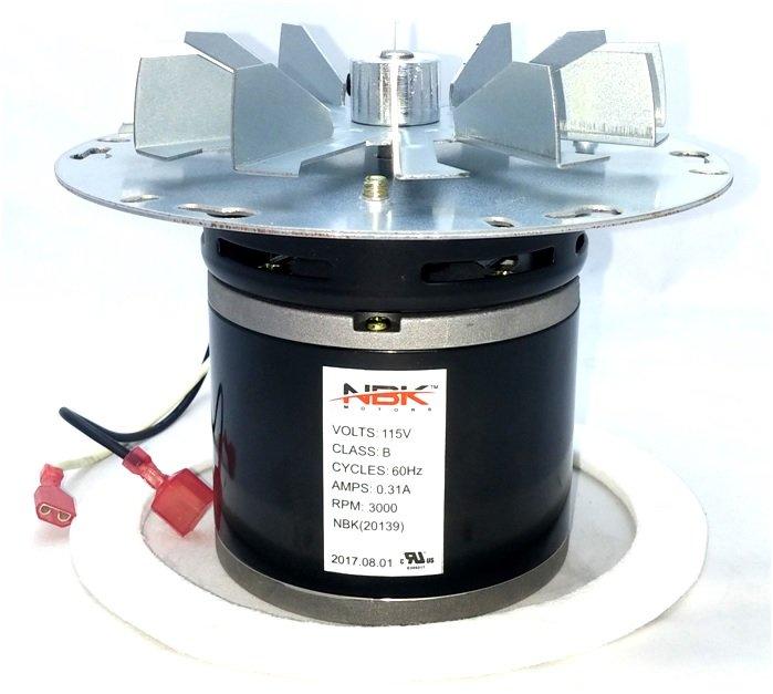 St Croix 80P20001-R Pellet Stove Blower Motor Exhaust St. Croix Part # 80P20001-R