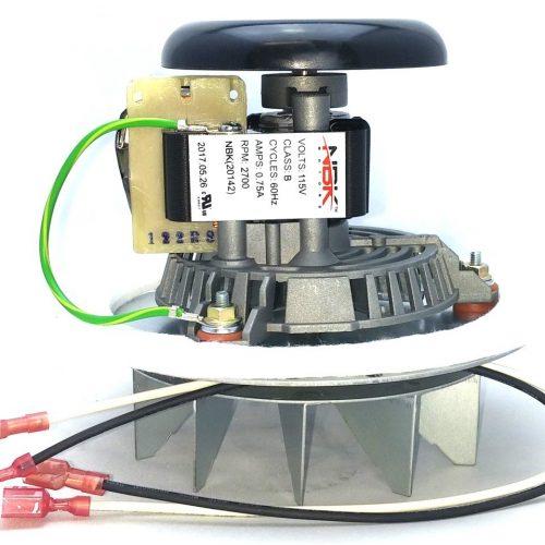 Kozi FAN12003 Pellet Stove Combustion Exhaust Fan Kit
