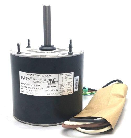 New Century 9724 Hvac Condensor Fan Motor Multi-Purpose 208-230V