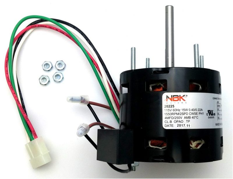 Fasco D1100 Hvac Drive Motor D1100 115V 2-Speed 1550/900 Rpm 1/50 Hp
