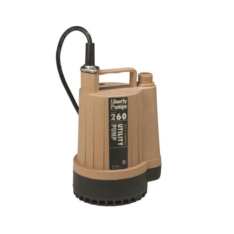 Liberty 205244 260 9.5X7W Thermoplas 1/6Hp