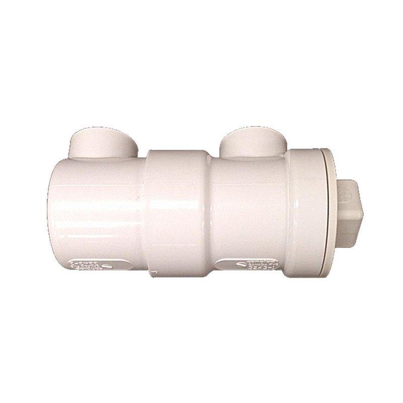 Canplas Endura 393243AW In-Line Drain Strainer 1-1/2 inches PVC