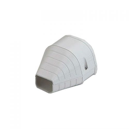 Rector 912963 Fortress Len92W 31/2 Wht Duct End