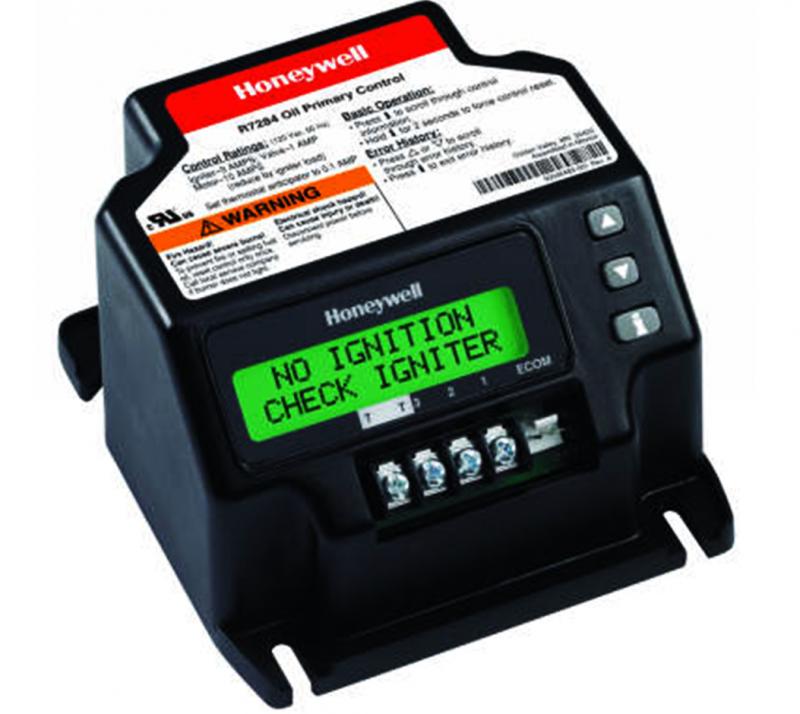 Honeywell R7284U1004 universal electronic oil primary