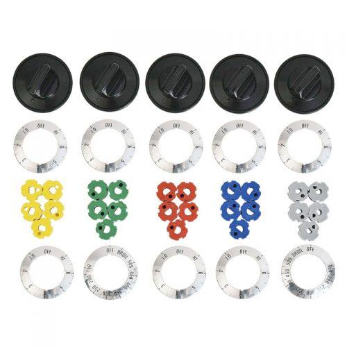 Universal electric range knob kit KN002