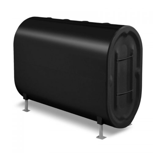 vertical 275 Gallon oil tank