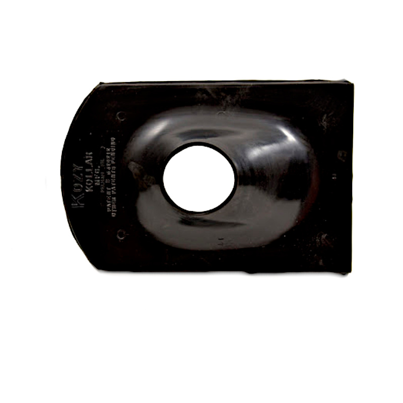 underside of Kozy Kollar 3 inch Rubber Roof Flashing KKPV-3