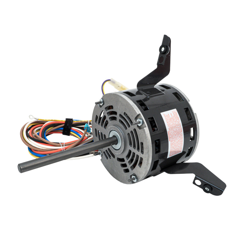 side view of Packard 43786 Hvac Direct Drive Blower Motor 1/3 Hp