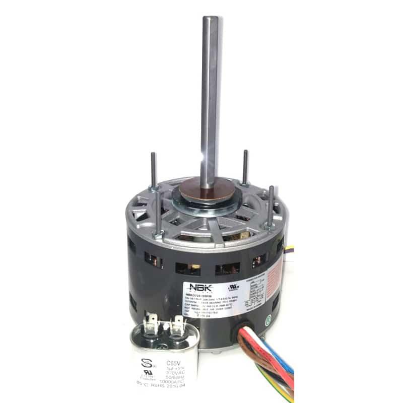 Fasco D725 Pellet Stove Direct Drive Motor Direct Drive 3 Speed Motor 1/4- 1/6- 1/8 Hp