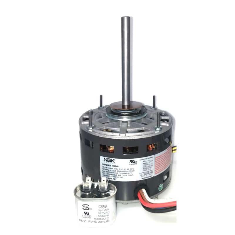 Fasco D928 Pellet Stove Direct Drive Motor 3 Speed 1/6- 1/8- 1/10 Hp