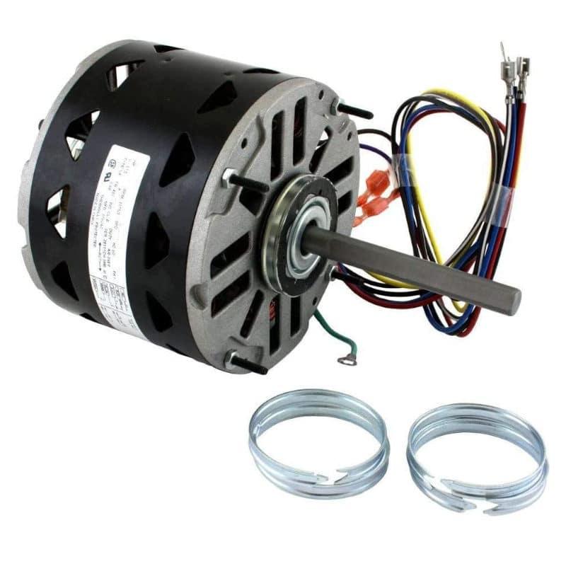 Fasco D721 Pellet Stove Direct Drive Motor Direct Drive 3 Speed Motor 1/4- 1/5- 1/6 Hp